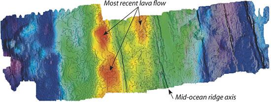 seafloor topography map