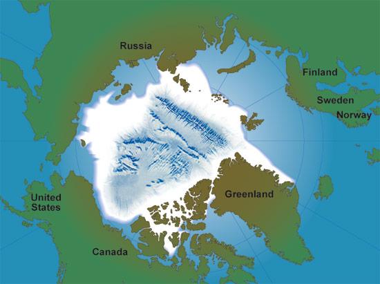 Unique Vehicles For A Unique Environment Oceanus Magazine - Arctic ocean on us map