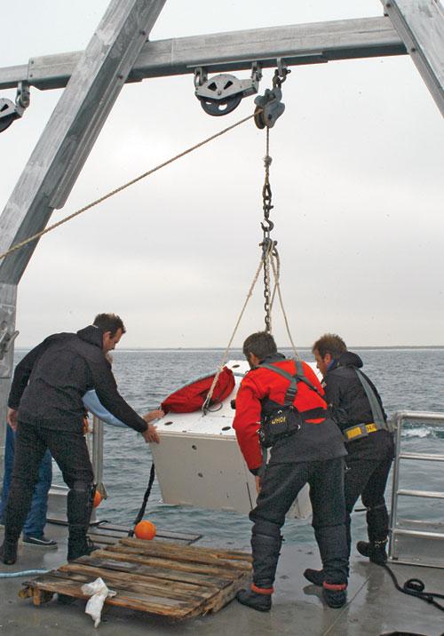 The seafloor node of the Martha's Vineyard Coastal Observatory