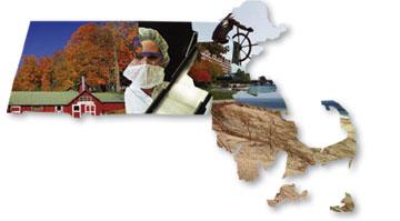 Map of Commonwealth of Massachusetts