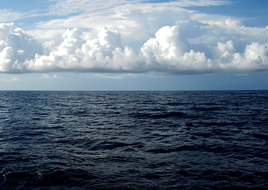 Clouds over open ocean, Knorr cruise, KN178.