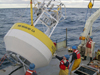 CLIMODE buoy prepares for deployment