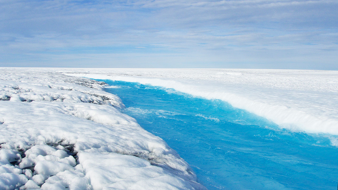 Greenland meltwater