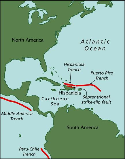 Major Caribbean Earthquakes And Tsunamis A Real Risk Woods Hole