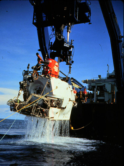 Deep Submergence Vehicle ALVIN