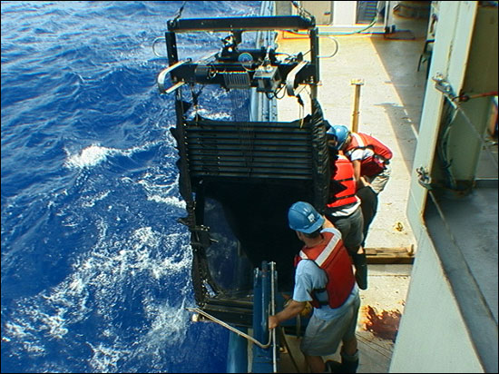 A Multiple Opening/ Closing Net and Environmental Sampling System (MOCNESS)