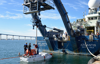 Alvin sea trials