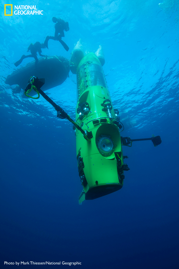 Deepsea Challenger sub