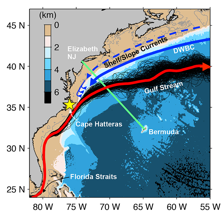 Accelerated Warming Of The Continental Shelf Off Northeast Coast - Us water temperature map