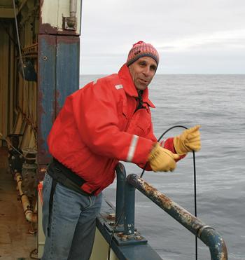Bob Pickart at sea