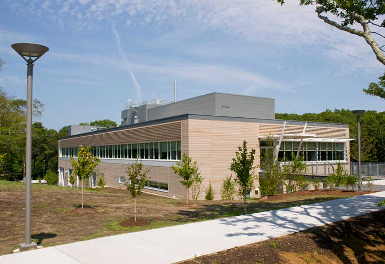 exterior of new lab