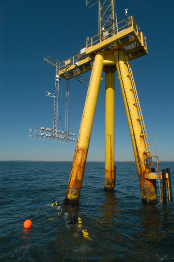 MVCO air-sea interaction tower