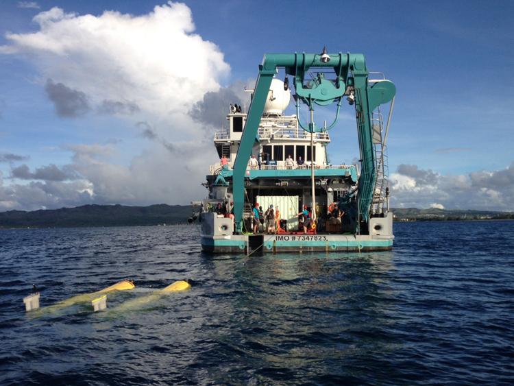 Nereus test from MV Alucia