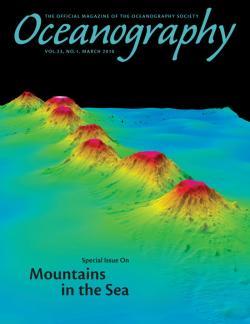 Oceanography magazine cover