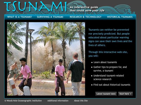 Tsunami site
