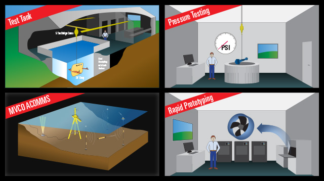 Illustration of new facilities at WHOI