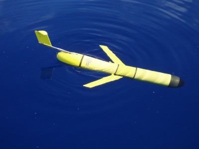 thermal glider at ocean surface