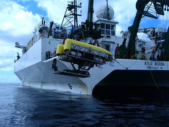 Nereus launched from RV Kilo Moana