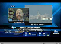 Ken Buesseler on the Weather Channel