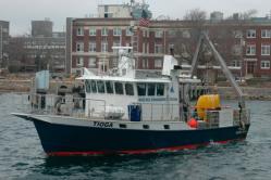 coastal research vessel Tioga