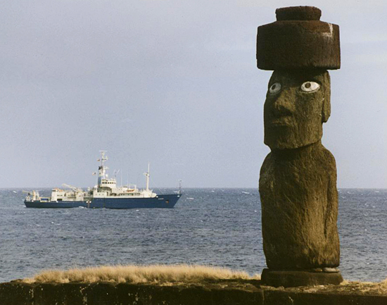 knorr off easter island