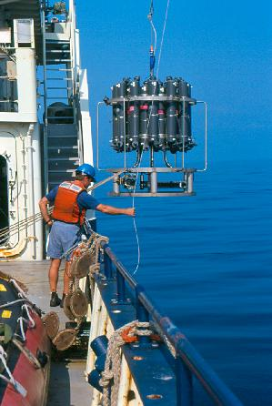 Erich Horgan Deploying CTD Array