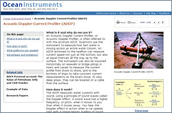 Ocean Instruments website