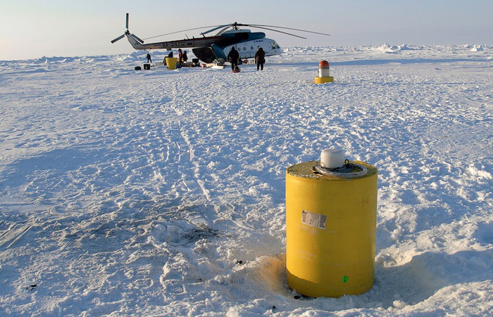 IPT 47 deployed in the thick ice near the North Pole