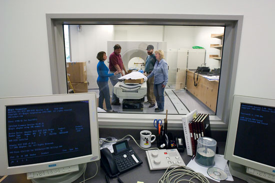 Campus planners, contractors, and scientists worked together to design the new facilities, including the CT scan and necropsy suite in the Marine Research Facility