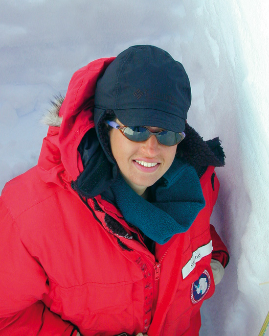 Sarah Das, assistant scientist, Department of Geology and Geophysics