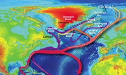 Rapid Freshening of North Atlantic Could Cool Northern Winters