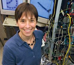 WHOI biologist Heidi Sosik