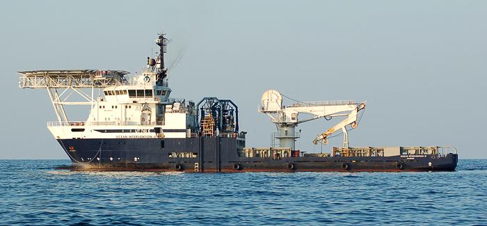Ocean Intervention III, commercial ship at Deepwater Horizon disaster