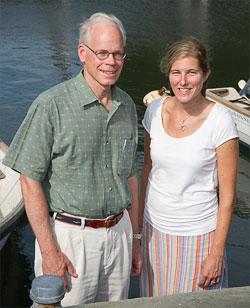 Larry Madin and Kelly Rakow Sutherland
