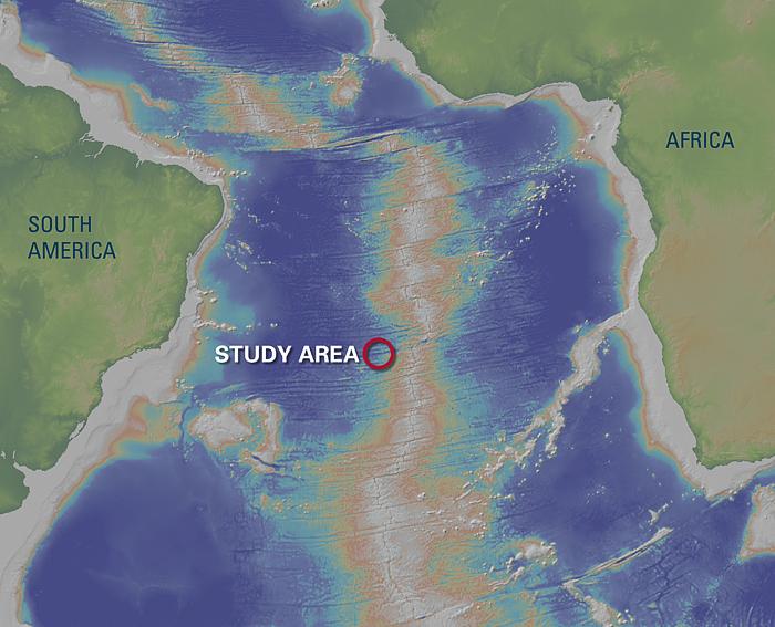 Powerful Currents In DeepSea Gorges Oceanus Magazine - Atlantic ocean us map