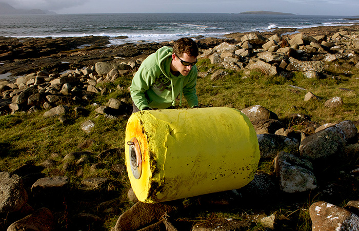 ITP 47 washed up in Blacksod Bay, County Mayo