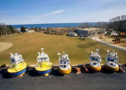 AISMET buoys over the years