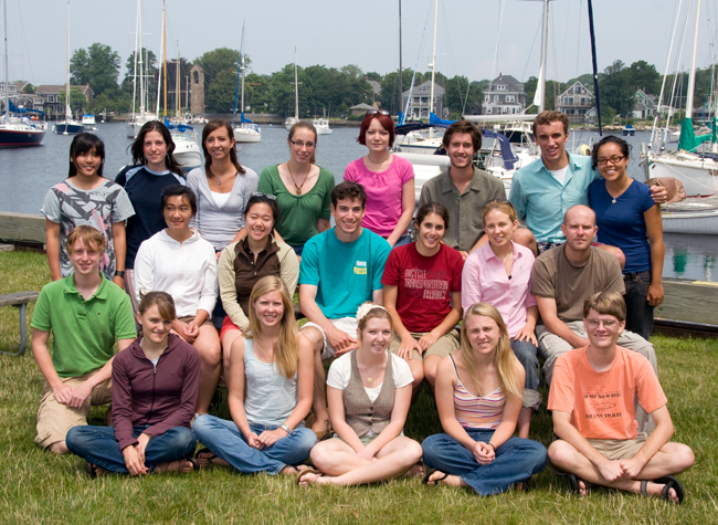 The 2009 Summer Student Fellows were a dynamic group of seniors and recent graduates who came to WHOI from as close by as Boston and as far as Canada, Thailand, and the United Kingdom.