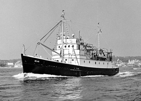 History of WHOI Research Vessels