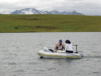 Sunlight neutralizes toxic mercury in lakes