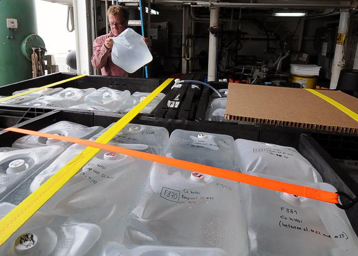 Fukushima water samples