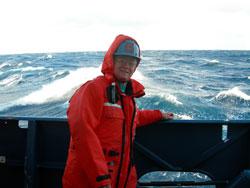 George Tupper on ship