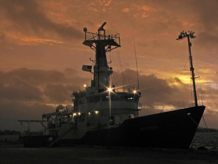 Oceanus in Bermuda, 2008