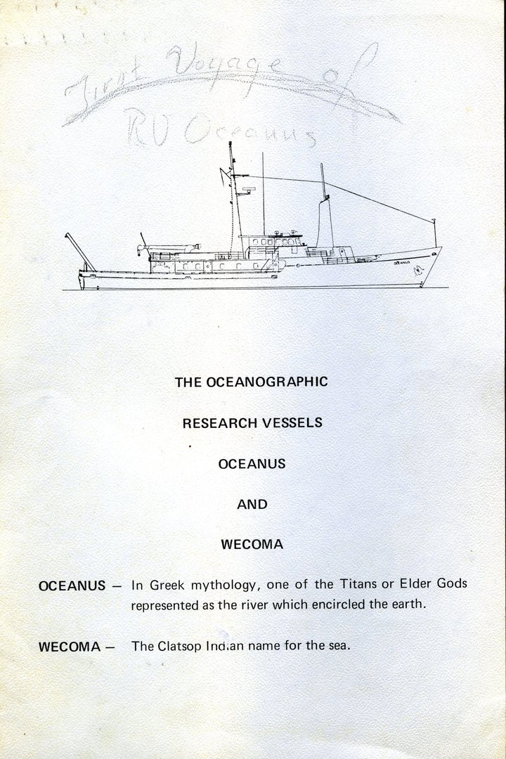 Oceanus Information Card