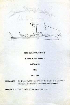 Oceanus Information Card