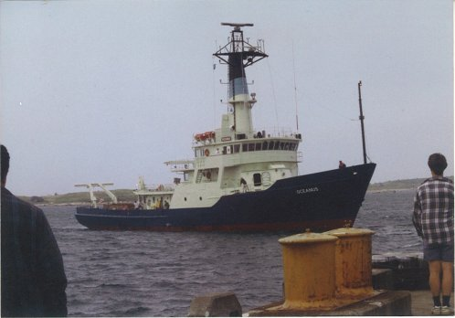 Oceanus Returning to WHOI after her Mid-Life Refit