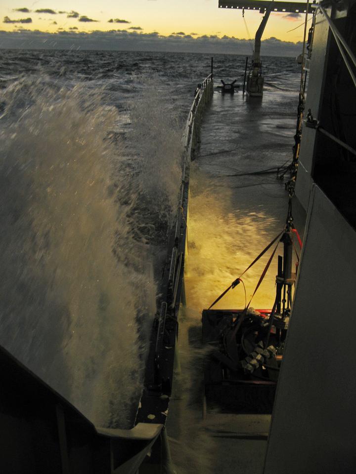Oceanus Deck Under Water
