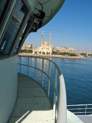 Oceanus in the Suez Canal