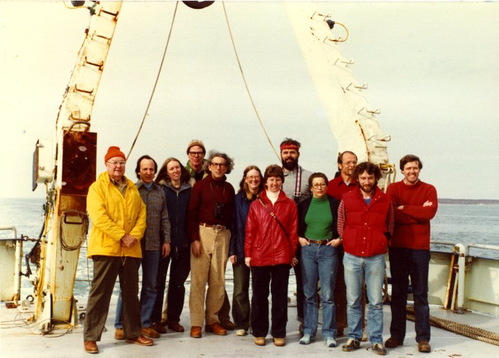 Science Party of Oceanus Cruise 93
