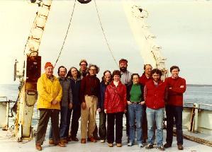 Science Party of Oceanus Cruise 93